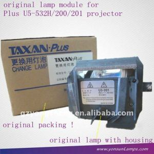 28-030 for Plus U5-121/162/532H projector lamp with housing