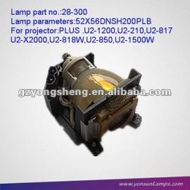 Proyector compatible con bombillas 28-300 módulo de ajuste a u2-210/u2-x2000