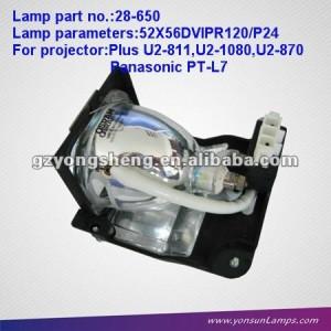 La promoción de lámparas del proyector para 28-650 u2- 1080+projector de la vivienda