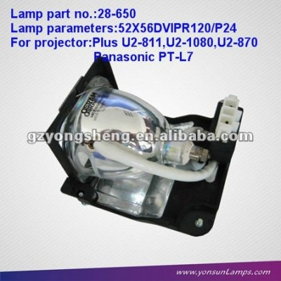 Förderung projektor lampen für 28-650 u2- 1080+projector gehäuse