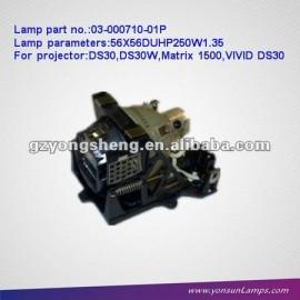 Proporcionar la bombilla del proyector para 03-000710-01p ds30 christie