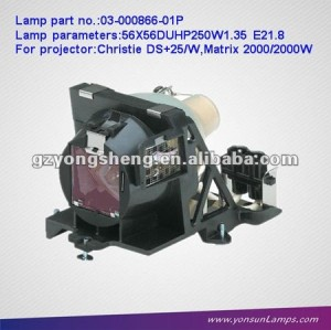03-000866-01P christie projector buls with cage for DS+25/W projector