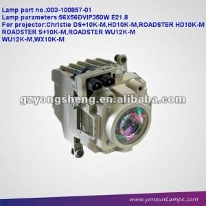 Christie projektor lampen für 003-100857-01 ds+10k- m projektor