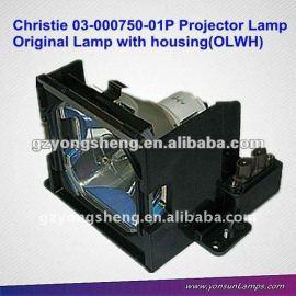 Christie oem lámparas del proyector para 03-000750-01p lx37/lx45