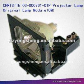 Caliente la venta de christie lámparas del proyector 03-000761-01p utilizado para lw40/u