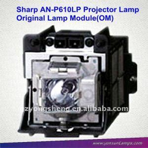 Proyector original lámpara desnuda an-p610lp xg-p610x para proyector sharp