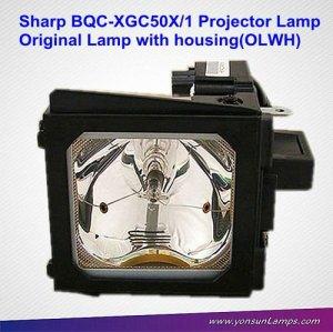 Projector lamp for Sharp BQC-XGC50X/1