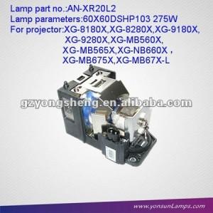 العرض الأصلي حدة المصابيح مصباح AN-XR20L2 لPG-MB55