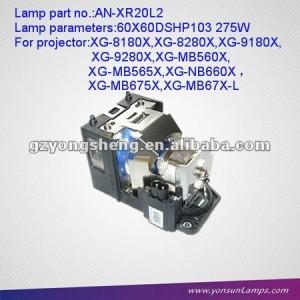 Lámpara del proyector original módulo de bombillas para an-xr20l2 pg-mb55
