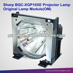 Venta al por mayor bqc-xgp10xe/1 lámpara del proyector/bombillas para xg-p10xe