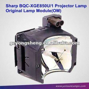 Lámpara del proyector fuerte parte no. Bqc-xge850u/1 xg-e850u para