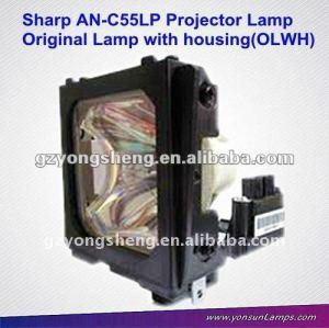 Las lámparas del proyector an-c55lp con vivienda para el proyector pg-c55x