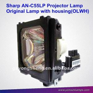 La lámpara del proyector sharp an-c55lp para proyector sharp pg-c55x