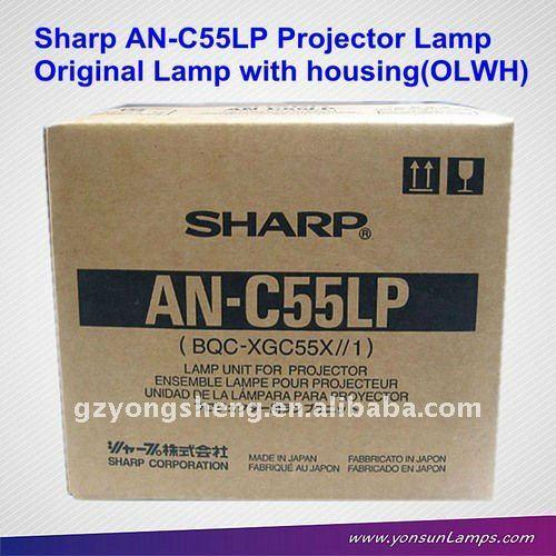 مصباح ضوئي شارب an-c55lp pg-c55x لبروجكتور شارب