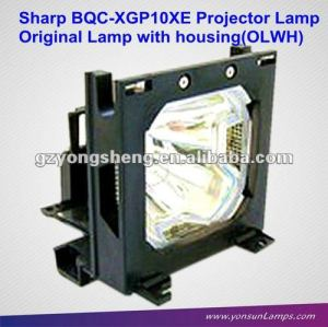 BQC-XGP10XE/1 projector lamp used for Sharp XG-P10XE projector