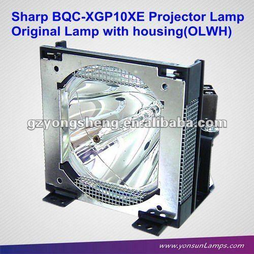 Bqc-xgp10xe/1 proyector de la lámpara utilizada para sharp xg-p10xe proyector