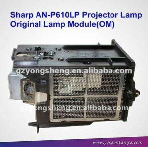 original projector bare lamp AN-P610LP for XG-P610X