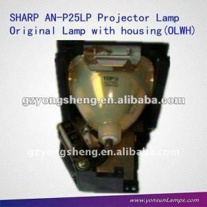 Origianl lámpara del proyector an-p25lp bqc-xgp25x/1 con vivienda para xg-p25xe