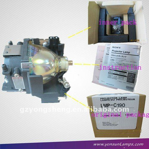 Reemplazo de& original sony lmp-e190 lámpara del proyector para lmp-e190 vpl-es5