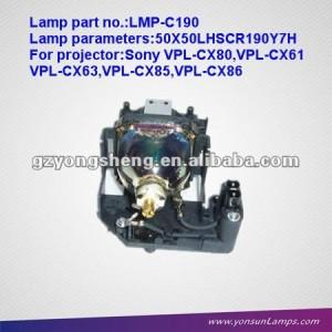 Vpl-cx86 lámpara del proyector: lmp-c190