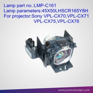 Projector spare lamp LMP-C161 for projector VPL-CX70