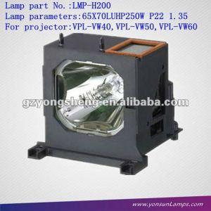 La lámpara del proyector para lmp-h200 vpl-vw60