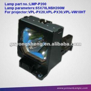 Original lmp-p200 lámpara de la lámpara del proyector para vpl-px20