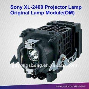 Xl-2400 tv proyector de la lámpara con la vivienda