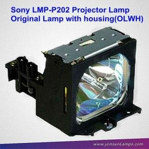 La lámpara del proyector de sony para lmp-p202 vpl-px10/vpl-px15/vpl-px11