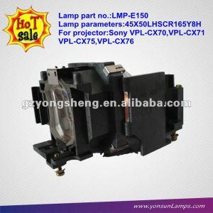 La bombilla del proyector lmp-e150 para sony vpl-es2/vpl-ex2