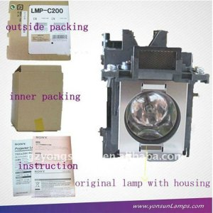Lmp-c200 lámpara del proyector sony vpl-cx125 vpl-cx200 proyector