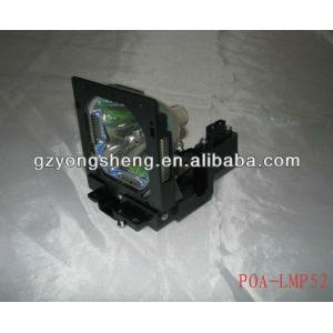 Poa-lmp52 lámpara del proyector de sanyo con una excelente calidad