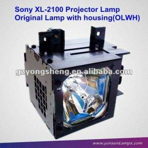 Para sony xl-2100 tv de proyección/dlp de la lámpara para kf-ws60