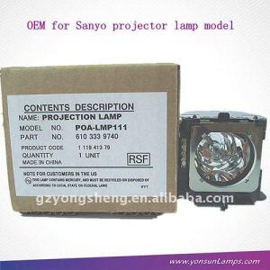 Bombilla de repuesto poa-lmp111 lámpara del proyector de sanyo proyector plc-xu111