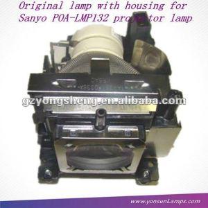 Original sanyo poa-lmp132 plc-xw200 lámpara del proyector