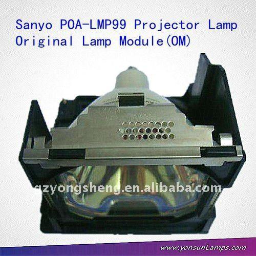 Para poa-lmp99 sanyo proyector de la lámpara para plc-xp40 proyector de sanyo