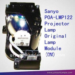 Sanyo proyector poa-lmp122 ajuste de la lámpara para plc-xw57, xw7000c, xw7070c