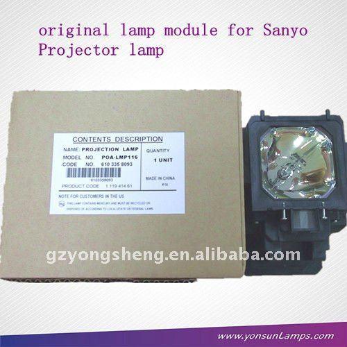 مصباح ضوئي لسانيو poa-lmp116 proyector bombilla