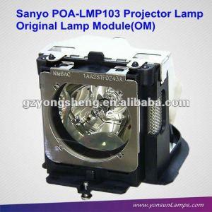 Poa-lmp103 sanyo proyector de la lámpara con alta calidad