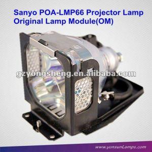 Para poa-lmp66 sanyo proyector de la lámpara para plc-se20, plc-se20a