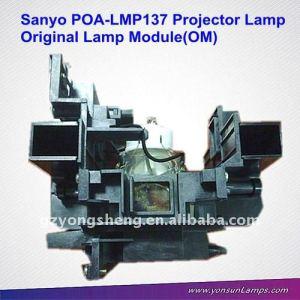Para sanyo plc-xm100 poa-lmp137 lámpara del proyector poa-lmp137