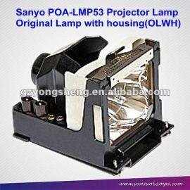 Para poa-lmp53 sanyo proyector de la lámpara para plc-sl15, se15, su40, xu40