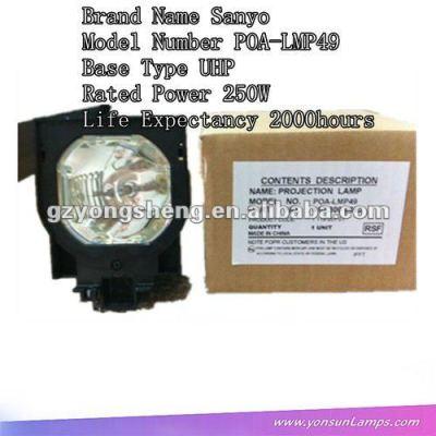 Für kompatibel sanyo poa-lmp49 uhe250w projektor-lampen mit gehäuse