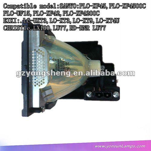 Compatible para sanyo poa-lmp49 uhe250w lámparas del proyector con la vivienda