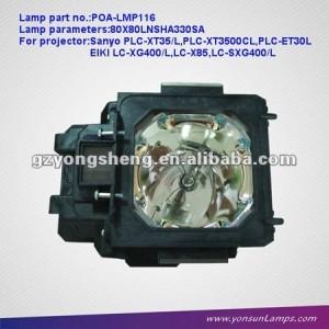 Copmatible lámpara del proyector para poa-lmp116 plc-et30l sanyo