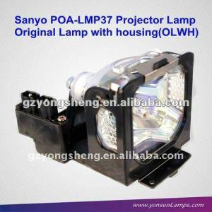 Suministro 100% nuevo original sanyo proyector poa-lmp37 lámpara para proyector de sanyo plc-sw20a