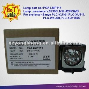 Poa-lmp111 halógeno lámpara del proyector de sanyo plc-xu111/plc-wxu30