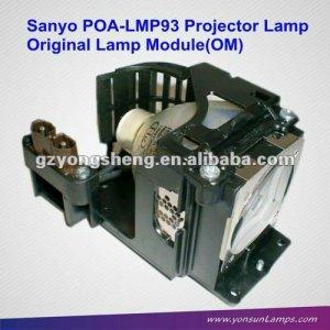 Original sanyo poa-lmp93 proyector de la lámpara para la venta