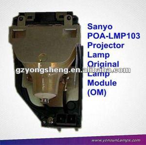 مصباح بروجيكتور SANYO الأصلي POA-LMP103 لXU100 SANYO