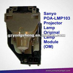 Original lámpara del proyector sanyo poa-lmp103 para sanyo xu100